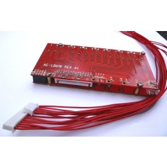 50A-100A Bleeding Balancing BMS for 48V 16S LiFePO4