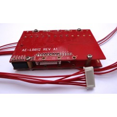 30A-60A Bleeding Balancing BMS for 24V 8S LiFePO4